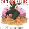 Quicksand cover art for The Spectator Australia